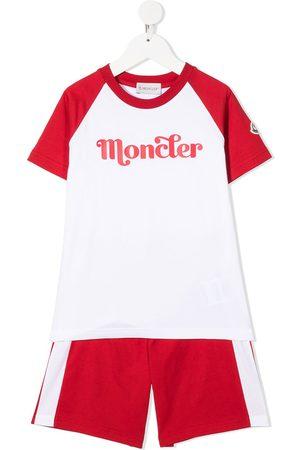 Moncler T-shirt à logo imprimé