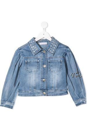MONNALISA Veste en jean à broderies