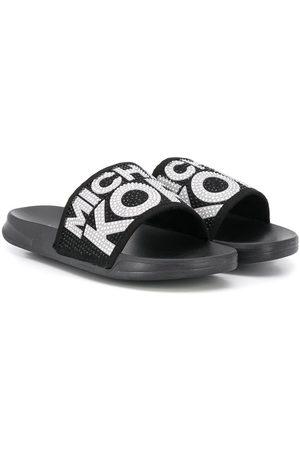 Michael Kors Slippers à logo à ornements