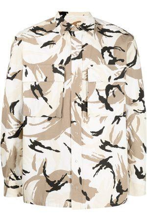 Kenzo Homme Casual - Chemise à imprimé camouflage