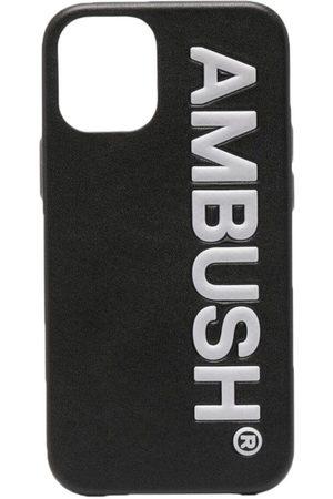 AMBUSH IPHONE 12 MINI LOGO AMB CASE BLACK TOFU