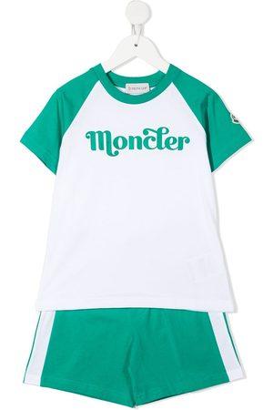Moncler Garçon Joggings - Survêtement à logo imprimé