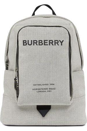 Burberry Sac à dos à logo imprimé