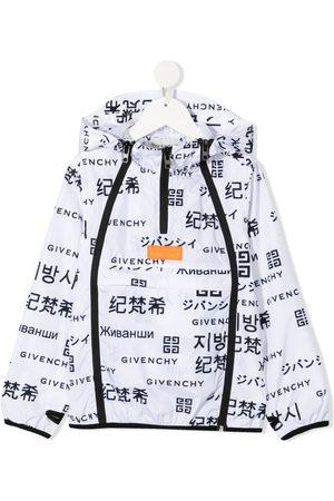 Givenchy Veste à logo imprimé