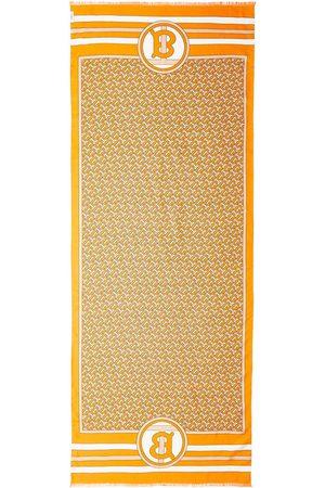 Burberry écharpe réversible à imprimé monogrammé