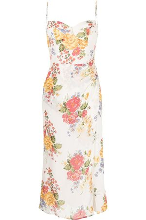Reformation Femme Robes de soirée - Robe Kourtney à fleurs