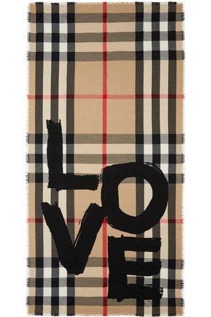 Burberry écharpe Love à motif Vintage Check