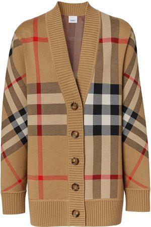 Burberry Cardigan à motif Vintage Check