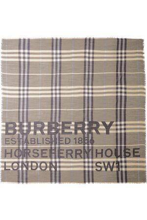 Burberry Écharpes & Foulards - écharpe à imprimé Horseferry
