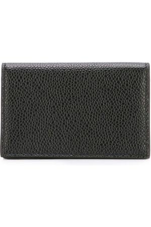 Thom Browne Porte-monnaie en cuir texturé