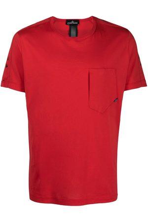 Stone Island Shadow Project Homme Débardeurs - T-shirt à imprimé graphique au dos