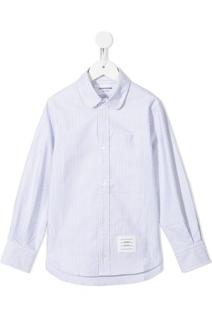Thom Browne Fille Chemisiers - Chemise à rayures Oxford University