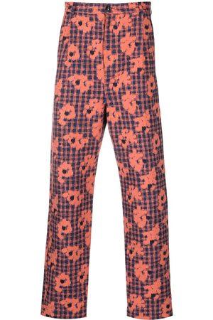 HENRIK VIBSKOV Homme Pantalons Slim & Skinny - Pantalon slim à fleurs