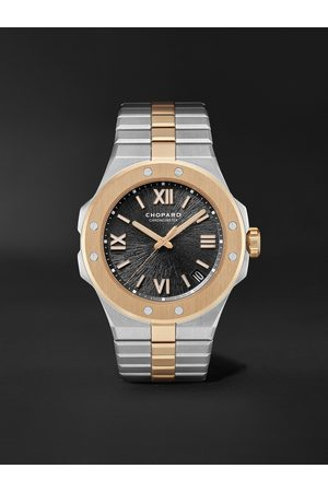 Chopard Homme Montres - Alpine Eagle Large Automatic 41mm Lucent Steel and 18-Karat Rose Gold Watch, Ref. No. 298600-6001