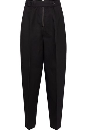 Jil Sander Pantalon à taille en coton