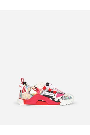 Dolce & Gabbana Chaussures (24-38) - SNEAKERS NS1 EN TISSUS PATCHWORK female 30