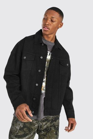 Boohoo Oversized Denim Jacket Homme