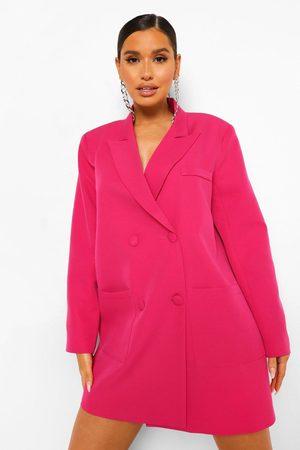 Boohoo Femme Blazers - Robe Blazer Oversize Coupe Carrée