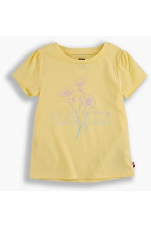 Levi's Teenager Baby Tee Jaune / Golden Haze