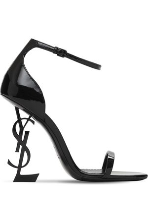 Saint Laurent 110mm Opyum Patent Leather Sandals