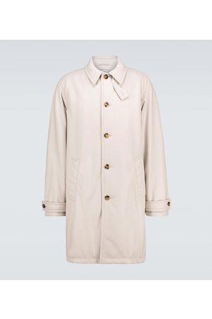 Bottega Veneta Trench-coat en cuir