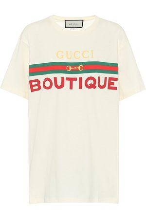 Gucci T-shirt à logo en coton