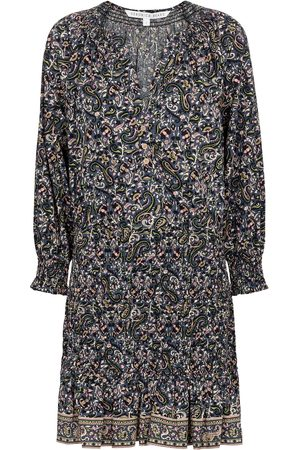 VERONICA BEARD Robe Karlina en coton à motif cachemire