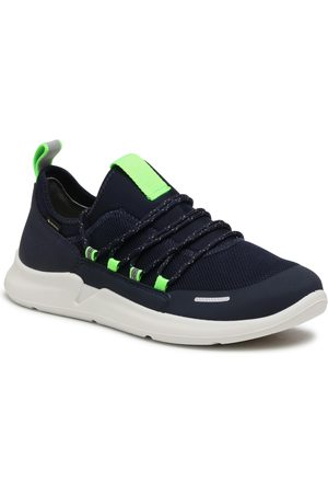 Superfit Garçon Chaussures basses - Chaussures basses - GORE-TEX 0-609390-8000 D Blau/Grün