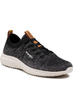 Wrangler Sneakers - Freesbee Lace WL11530A Black