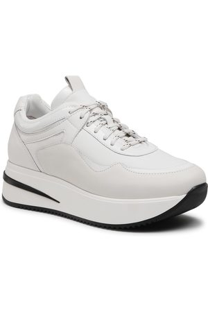 Gino Rossi Femme Baskets - Sneakers - E21-RST-LUXORY-01 White