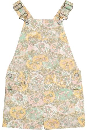 BONPOINT Salopette Saga Liberty à fleurs en coton