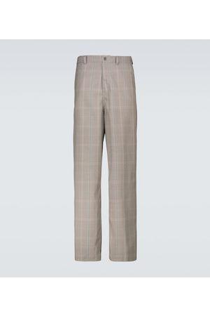 UNDERCOVER Pantalon ample à carreaux