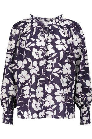 Velvet Top Anissa en coton à fleurs