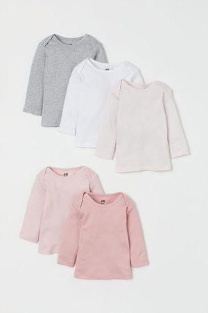 H&M T-shirts en jersey, lot de 5