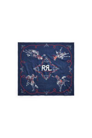 RRL Homme Gants - Bandana rodéo en coton