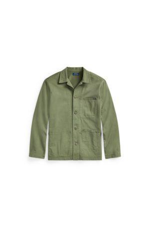 Polo Ralph Lauren Homme Chemises - Surchemise utilitaire en sergé