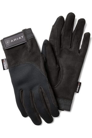 Ariat Gants - Insulated Tek Grip Gloves in Black