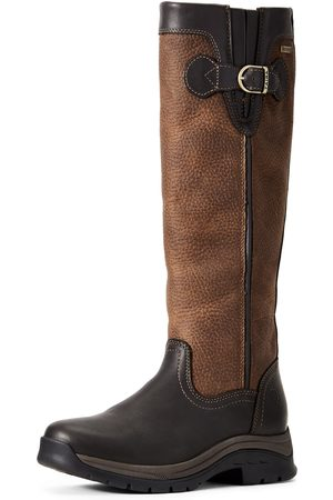Ariat Femme Bottines - Women's Belford GORE-TEX Boots in Ebony Leather