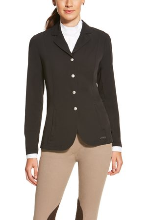 Ariat Women's Artico Show Coat Long Sleeve in Black