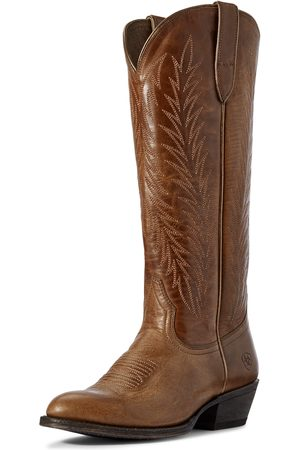 Ariat Femme Cowboy & Bikerboots - Women's Legacy Two Step Western Boots in Amber Leather