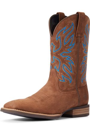 Ariat Men's Everlite Vapor Western Boots in Distressed Tan Leather