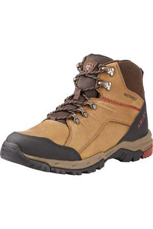 Ariat Homme Chaussures de randonnée - Men's Skyline Mid Waterproof Shoes in Distressed Brown