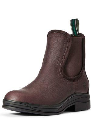 Ariat Femme Bottines - Women's Keswick Waterproof Boots in Dark Brown Leather