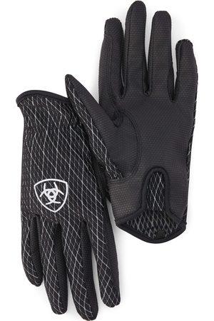 Ariat COOL Grip Gloves in Black White