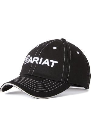Ariat Team II Cap in Black Cotton Twill