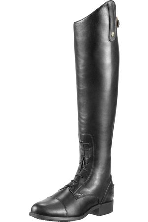 Ariat Homme Bottes - Men's Heritage Contour Field Boots in Black Leather