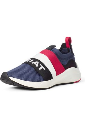 Ariat Femme Baskets - Women's Ignite Slip-On Sneakers Shoes in Team Navy