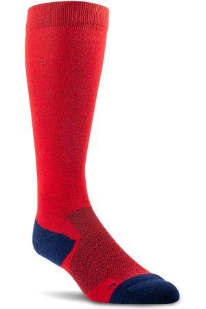 Ariat TEK Performance Socks in Red/Navy