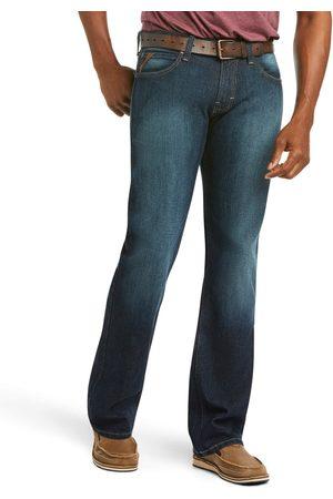 Ariat Homme Coupe droite - Men's M7 Rocker Stretch Legacy Stackable Straight Leg Jeans in Fremont Cotton