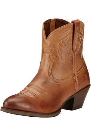 Ariat Femme Cowboy & Bikerboots - Women's Darlin Western Boots in Burnt Sugar Leather